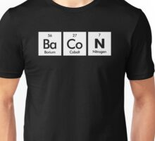 The Elements Of Bacon Unisex T-Shirt