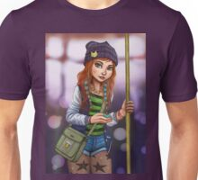 On the bus Unisex T-Shirt