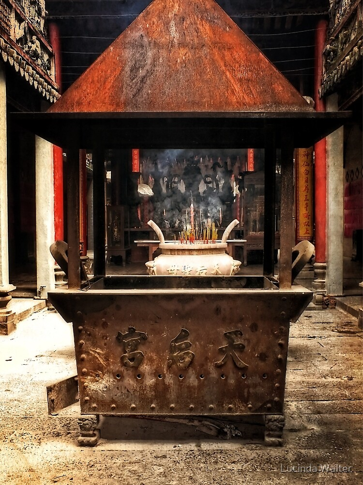 Thien Hau Temple by Lucinda Walter