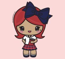 St. Joseph's Academy- Redheaded Student - SJA - Baton Rouge, LA One Piece - Long Sleeve