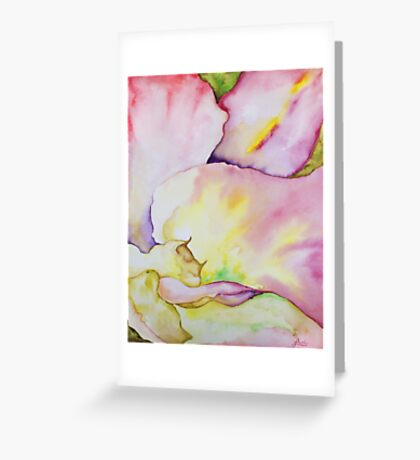 Flower close up Greeting Card