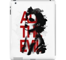 All the Evil iPad Case/Skin