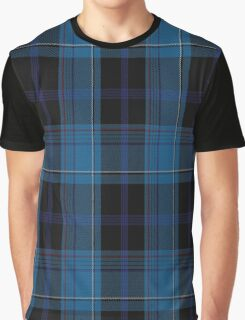 01196 Tilted Patterson Fashion Tartan  Graphic T-Shirt