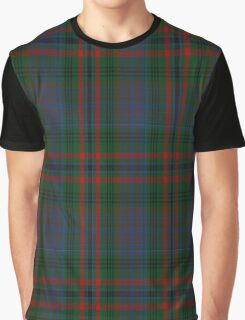 01195 Knoxland Fashion Tartan Graphic T-Shirt