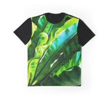 Shy Fern #redbubble #lifestyle Graphic T-Shirt