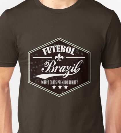 Futebol Brazil Unisex T-Shirt