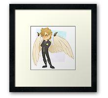 Angel Chibi Framed Print