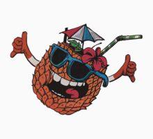 Funny pineapple shaka One Piece - Short Sleeve