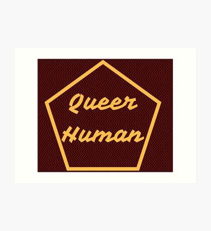 Queer Human Art Print