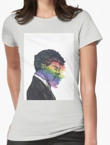 Sherlock True Colors Womens Fitted T-Shirt
