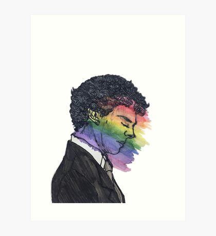 Sherlock True Colors Art Print