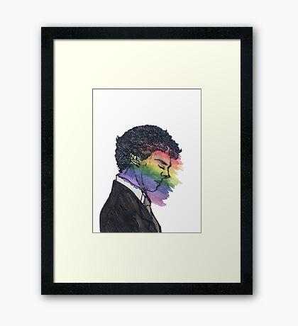 Sherlock True Colors Framed Print