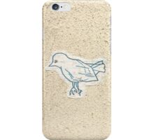 Bird on the Wall iPhone Case/Skin