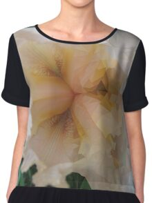 low poly iris Chiffon Top