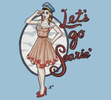 Let's Go Soarin' One Piece - Short Sleeve