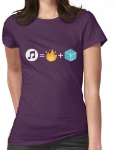 Song of Fire & Ice Womens Fitted T-Shirt