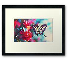 Beautifly Framed Print
