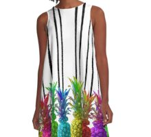 Neon Jungle  A-Line Dress