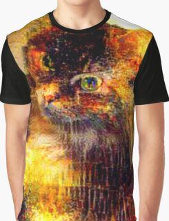 Copper Kitty Graphic T-Shirt