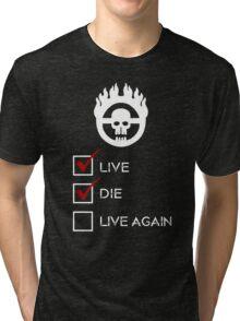 War Boy Check List Tri-blend T-Shirt
