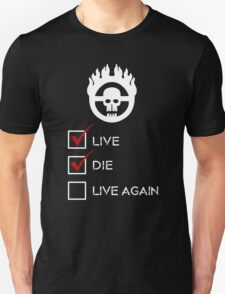 War Boy Check List Unisex T-Shirt