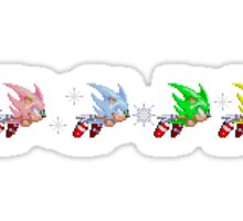 Hyper Sonic Spectrum Sticker