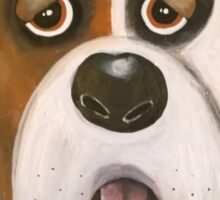 Winston the dog Sticker