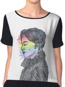Irene Adler True Colors Chiffon Top