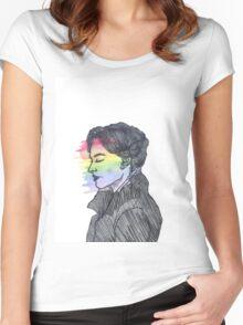 Irene Adler True Colors Women's Fitted Scoop T-Shirt
