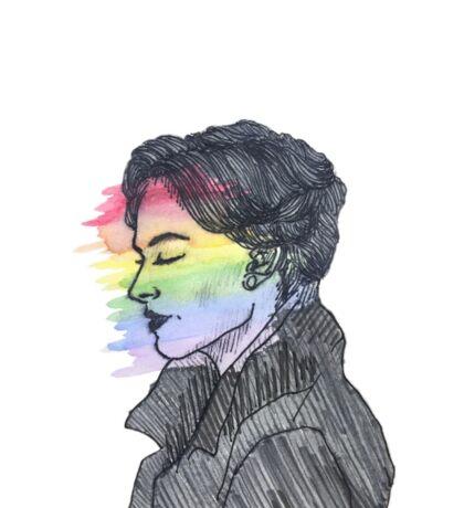 Irene Adler True Colors Sticker