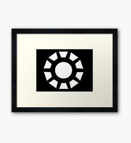 Monochromatic Heroes #2 Framed Print