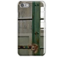 WWII Naval Net Depot iPhone Case/Skin