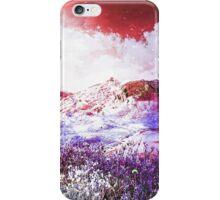 Starry Mountain Scene iPhone Case/Skin