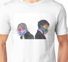 True Colors Sherlock and John Unisex T-Shirt