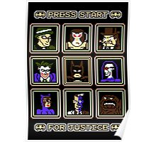 Press Start... For Justice! Poster