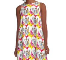 Waitangi Day - One love Aoetearoa - Gerbras A-Line Dress