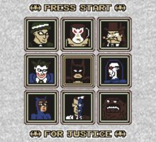 Press Start... For Justice! Kids Tee