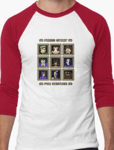 Press Start... For Justice! Men's Baseball ¾ T-Shirt