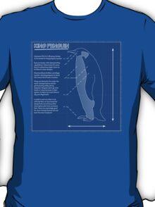 King Penguin Blueprint - Annotated T-Shirt