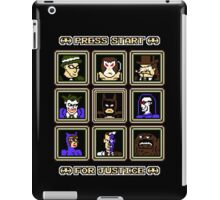 Press Start... For Justice! iPad Case/Skin