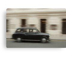 The London Taxi Canvas Print