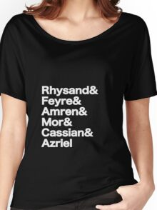 The Night Court Squad (black) Women's Relaxed Fit T-Shirt