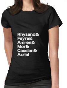 The Night Court Squad (black) Womens Fitted T-Shirt