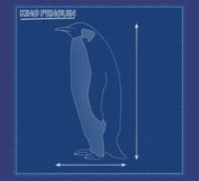 King Penguin Blueprint by trum