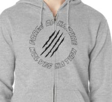Wolves Nation - Force Of Nature Zipped Hoodie