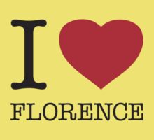 I ♥ FLORENCE One Piece - Short Sleeve
