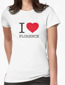 I ♥ FLORENCE Womens Fitted T-Shirt