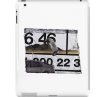 Front rock bus stop iPad Case/Skin