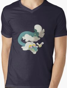 Drampa and Cutiefly Mens V-Neck T-Shirt