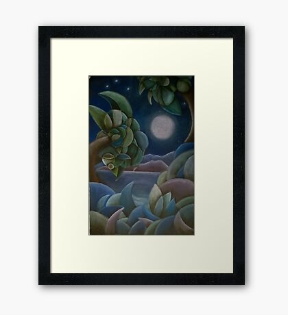Carribean Night Framed Print